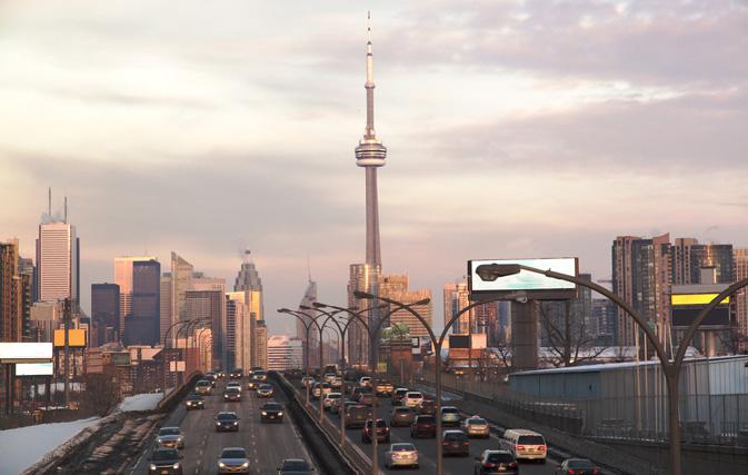 Торонто: выброс вредных газов снижается