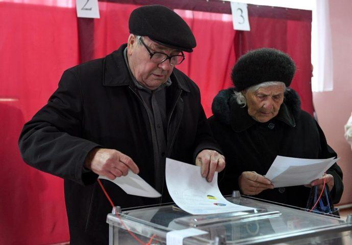 В Украину прибыла группа канадских наблюдателей