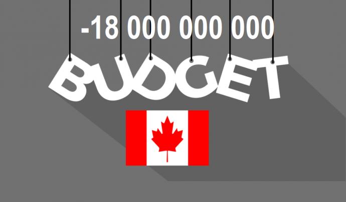 И немного о канадском бюджете с дефицитом в 18 миллиардов