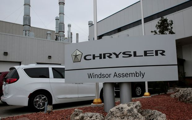 Fiat Chrysler наносит Онтарио удар поддых