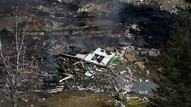 В Пикеринге взорвался жилой дом