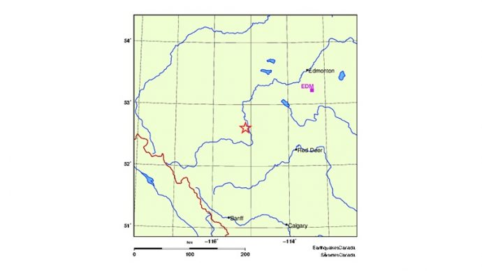 Землетрясение в Альберте не связано со сланцевой нефтью
