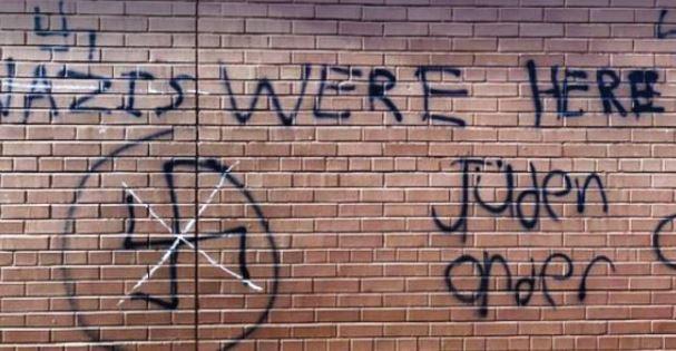 Граффити антисемитского характера на торонтской школе