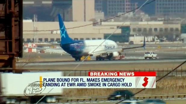 Дым в самолете заставил канадский самолет совершить экстренную посадку