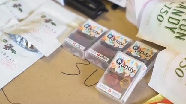 Полиция конфисковала конфеток с марихуаной на $1.7 миллиона