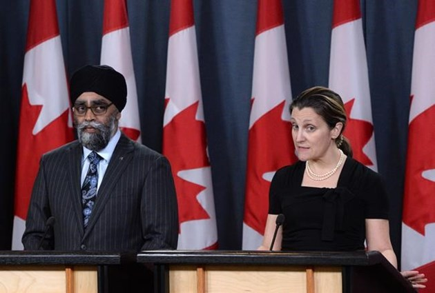 Военные миссии Канады в Ираке и Украины продлены