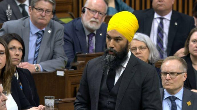 Понедельник в парламенте: появление лидера NDP и отставка члена «Тайного совета»