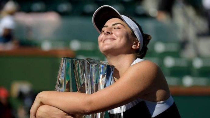 Бьянка Андрееску— чемпионка турнира в Индиан-Уэллсе!