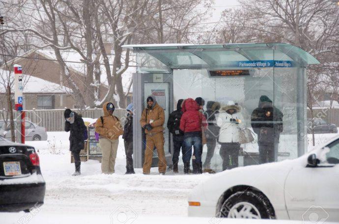 Канадцы слишком долго едут на работу