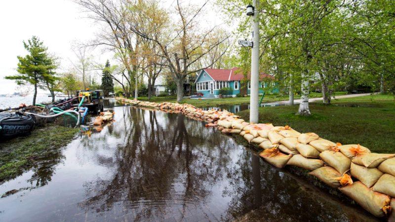Торонтским островам снова может грозить наводнение