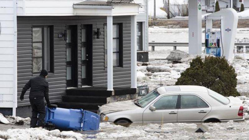 Наводнение в Квебеке