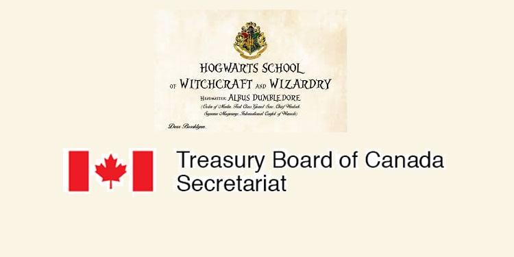 Правительство Канады дает объявление в духе книги о Гарри Поттере