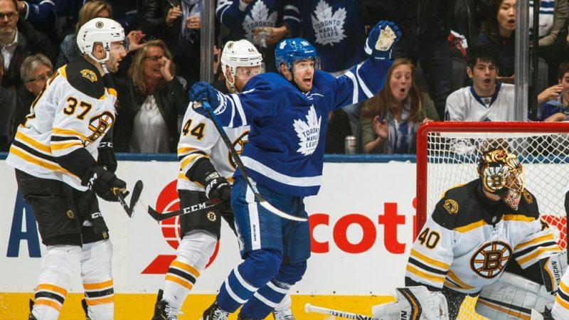 Toronto Maple Leafs одержали победу в третьем матче над Boston Bruins