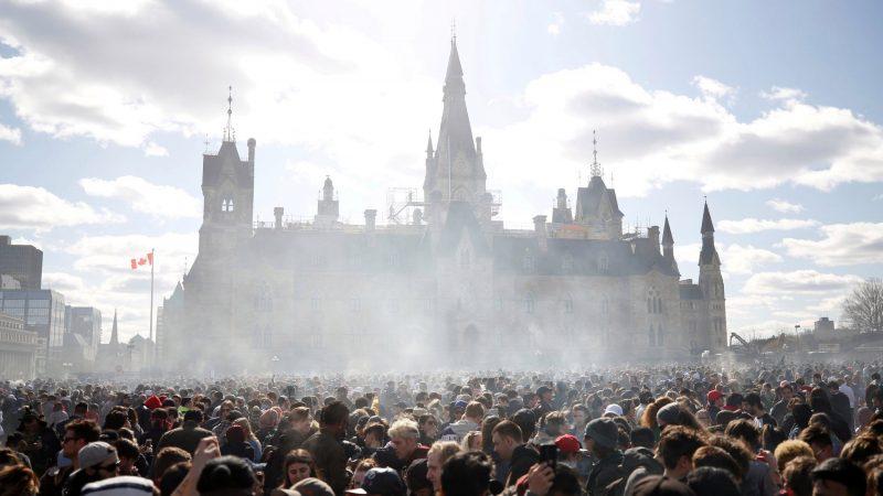 Марихуановая демонстрация в Оттаве будет очень многочисленной