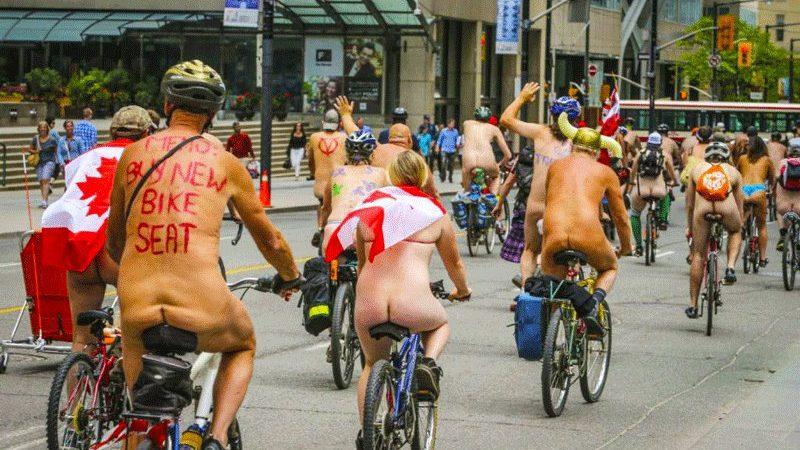 В Торонто в июне состоится голый велопробег