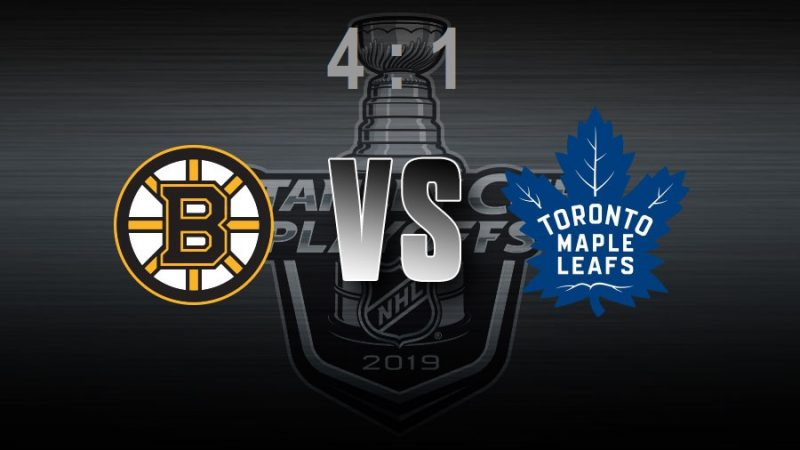 Toronto Maple Leafs: второй матч проигран, счет в серии сравнялся— 1:1