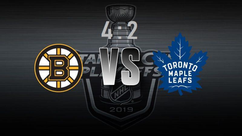 Toronto Maple Leafs проиграли. Седьмая игра серии— в Бостоне