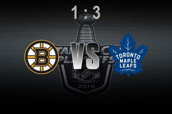 Toronto Maple Leafs: первая победа в первом матче первого круга