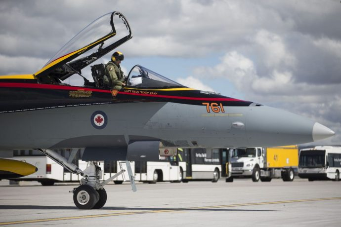 В мае Канада откроет наконец тендер на закупку истребителей для своих ВВС