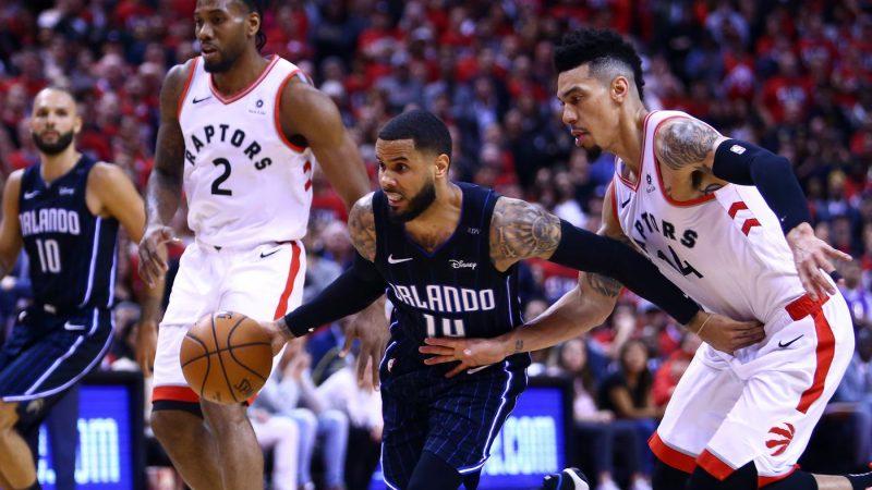 Toronto Raptors сравняли счет в серии с Orlando Magic