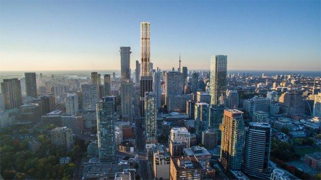 Торонто пустился в гонку за небоскребами