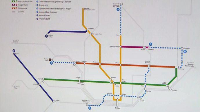 Правительство Онтарио обещает метро