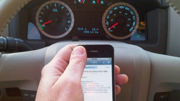 По соседству с Торонто— рейд по борьбе с мобильниками за рулем