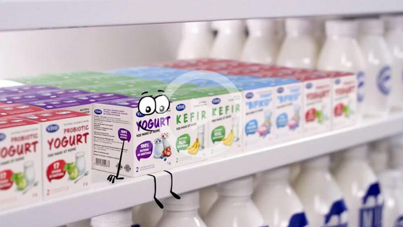 Кефир— напиток мечты! Vivo-закваски для лучшего кефира дома