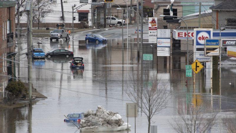 Предупреждение о наводнении от Онтарио до Нью-Брансуика