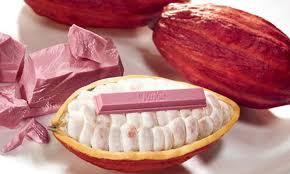 Розовый... но пока шоколадом не называется