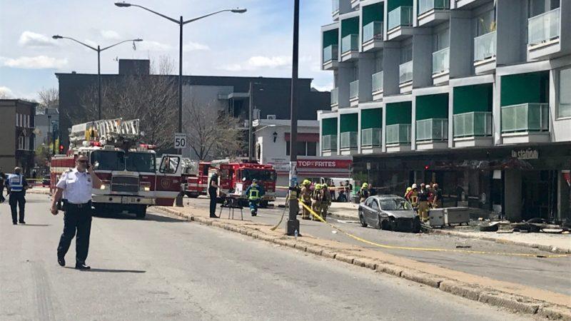 Авария в Квебек-сити: 12 человек оказались в больнице