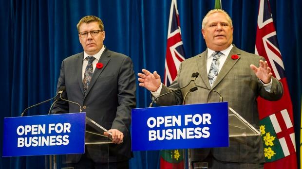 В Торонто встречаются премьеры Онтарио и Саскачевана