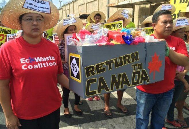 «Филиппинский» мусор: что ждет его в Канаде?