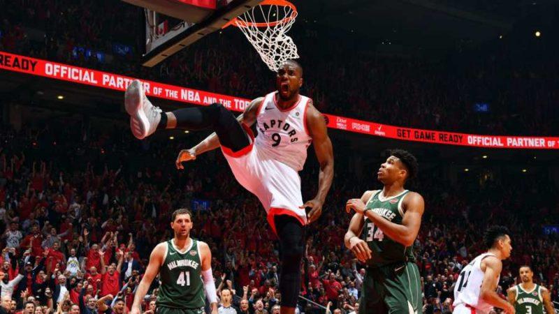 Toronto Raptors сравняли счет в серии с Milwaukee Bucks