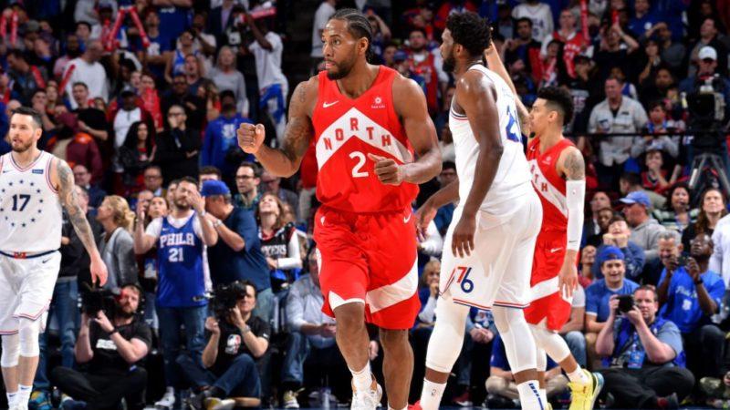 Toronto Raptors сравняли счет в серии с Philadelphia 76ers— 2:2