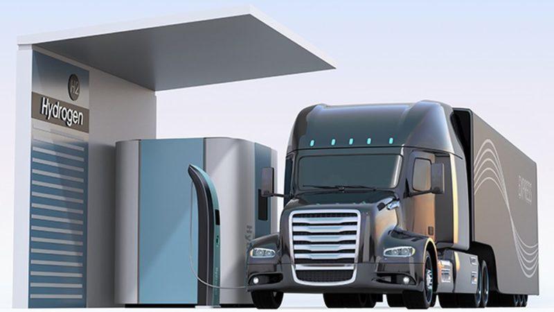 Дальнобойщики в Альберте испытают грузовики на водороде