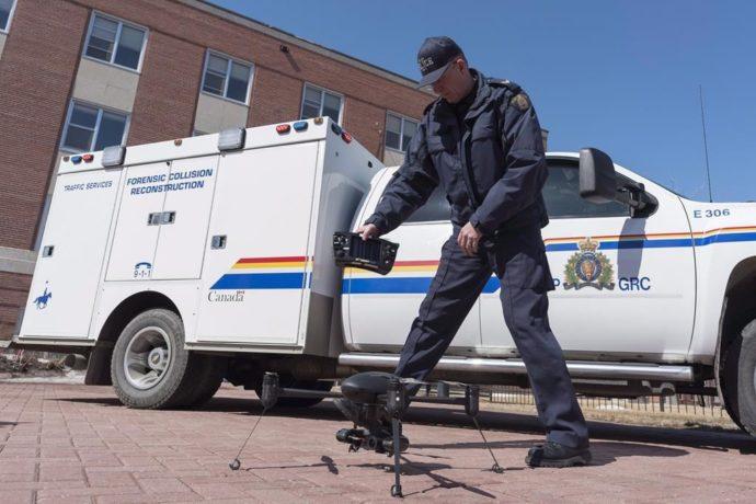 И еще о дронах— у канадской полиции