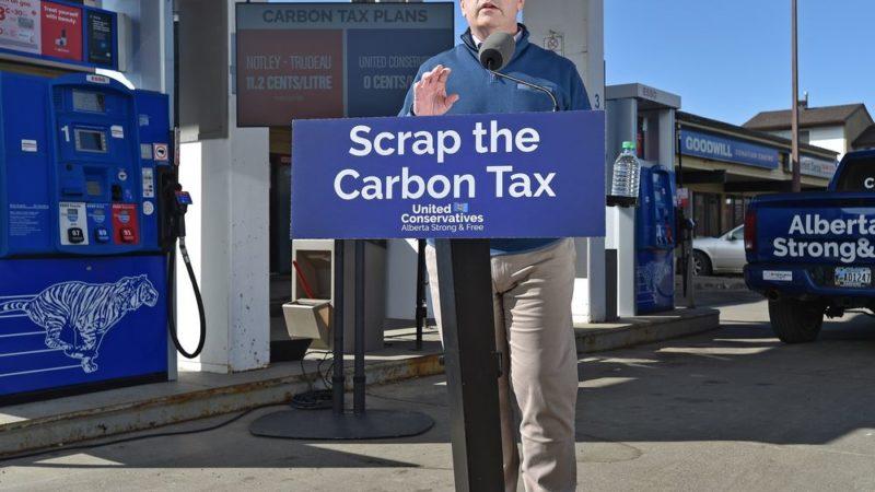 Альберта «убила» углеродный налог