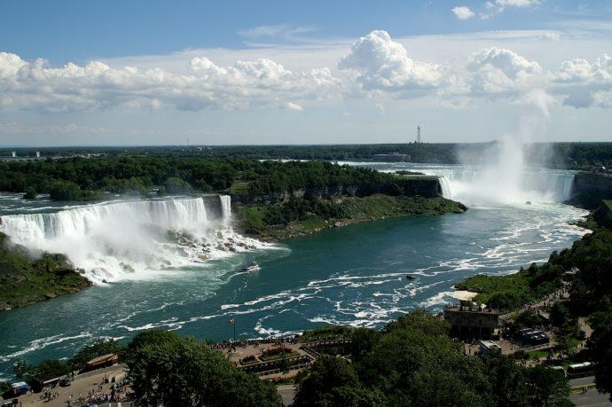 Американский водопад на Ниагаре «пересох» 50 лет назад