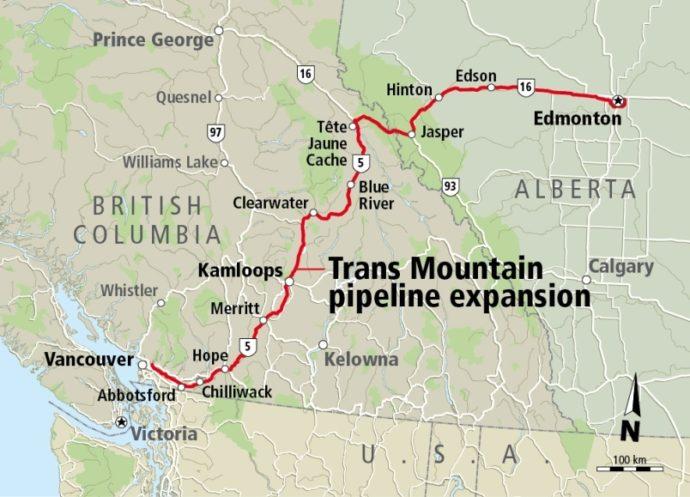 Оттава в очередной раз одобрила строительство нефтепровода
