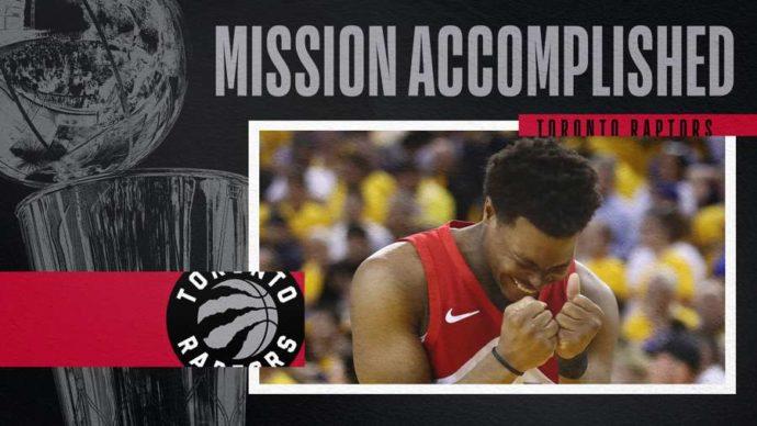 Toronto Raptors: мы, север, чемпионы!