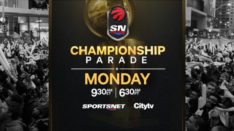 Toronto Raptors: парад!