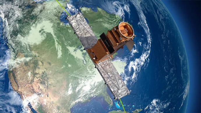 Канада запускает новые спутники из Калифорнии