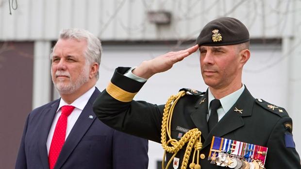 Перестановки в командовании ВС Канады