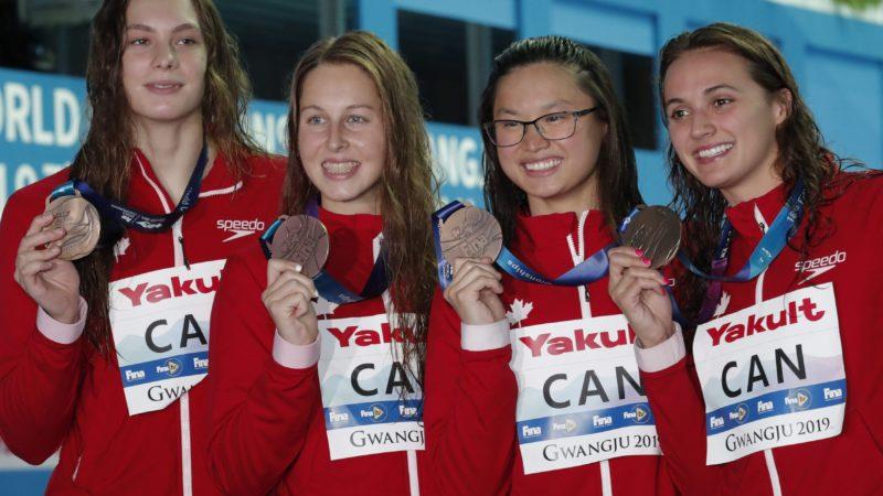Канада завоевала 11 медалей на чемпионате мира по плаванию