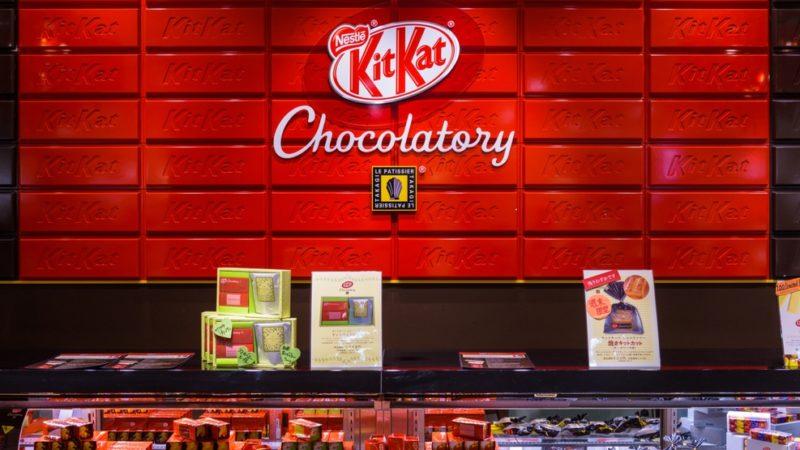 Сделай свой шоколадный батончик Kit Kat в Торонто