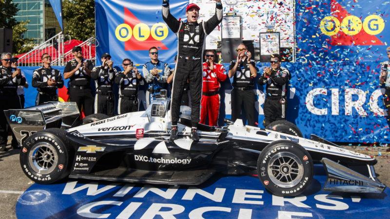 Этап гонок Honda Indy в Торонто выиграл французский пилот