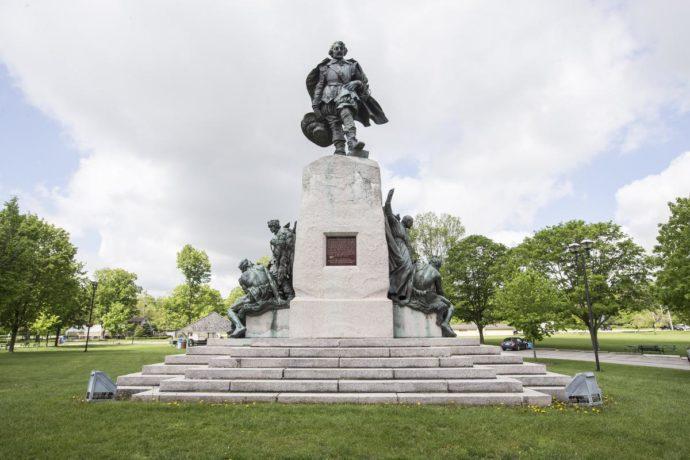 Памятник де Шамплену вернется в канадский город Ориллия