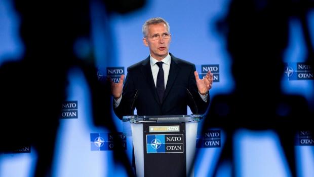 Генеральный секретарь НАТО в Канаде