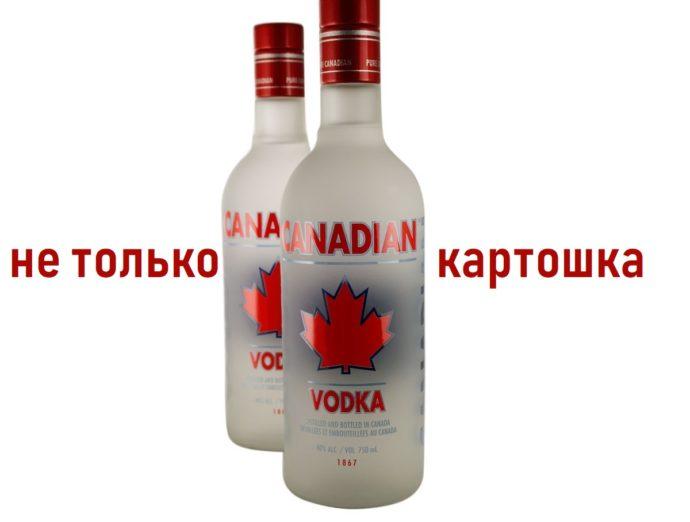 Канада изменила правила выпуска водки